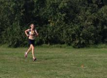 Tracey Austin was Malvern's fastest woman at Jells Park.