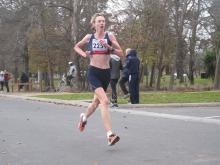 Tracey Austin finished fourth overall at Lake Wendouree